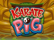 Karate Pig играть на деньги в казино Эльдорадо