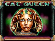 Азартный гаминатор Королева Кошка для бездепозитной игры с бонусами